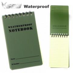 Block Notes Impermeabile Waterproof dimensioni 12,1 x 7,8 cm Acqua Resistente OD