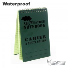 Block Notes Impermeabile Waterproof dimensioni 15 x 10 cm Acqua Resistente OD