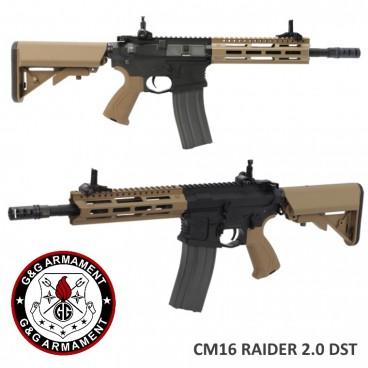 Fucile Elettrico G&G Armament CM16 Raider 2.0 DST 6mm M4 Softair GG-RAIDER2.0T