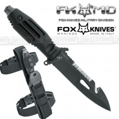 KNIFE COLTELLO FOX KNIVES MANIAGO SPUTNIK FX-807B da SUB ORIGINALE MADE IN ITALY