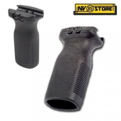 Impugnatura per Fucile Softair RVG Rail Verticale Fissa Grip Maniglia Black Nero