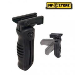 Impugnatura per Fucile Softair AK Chiudibile Pieghevole Grip Maniglia Black Nero