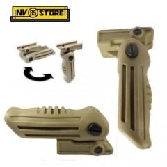 Impugnatura per Fucile Softair AK Chiudibile Pieghevole Grip Maniglia Desert