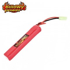Batteria Lipo Litio BILLOWY POWER 11,1V 1200MH 15C per Fucili Softair Elettrici