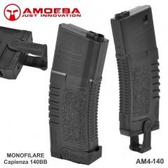Caricatore Monofilare AMOEBA per Fucile Softair M4 140BB con PULL MAG Estrattore