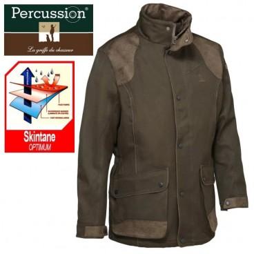 economico per lo sconto dd8a9 d31a8 Giaccone Caccia PERCUSSION Skintane Hunting IMPERMEABILE ...