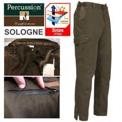 Pantaloni Pants Caccia PERCUSSION Hunting Skintane IMPERMEABILE e Traspirante