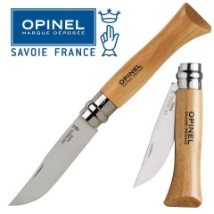 KNIFE OPINEL N° 6 COLTELLO DA LAVORO CAMPO CACCIA PESCA SURVIVOR FOLDING CAMPING