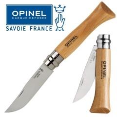KNIFE OPINEL N° 9 COLTELLO DA LAVORO CAMPO CACCIA PESCA SURVIVOR FOLDING CAMPING