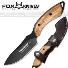 KNIFE COLTELLO FOX KNIVES MANIAGO 1502 ORIGINALE MADE IN ITALY CACCIA SURVIVOR