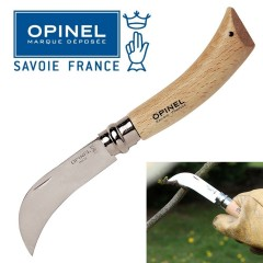 KNIFE OPINEL SERPETTE RONCOLA N. 8 COLTELLO LAVORO CAMPO CACCIA SURVIVOR FOLDING