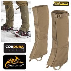 Ghette HELIKON-TEX Snowfall Gaiters in CORDURA® e VersaStretch® Militari Caccia