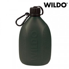 Borraccia Bottiglia WILDO HIKER BOTTLE da 700 ml 0,7 L Olive Green + Moschettone