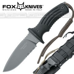 KNIFE COLTELLO FOX KNIVES MANIAGO 700B ORIGINALE MADE IN ITALY CACCIA SURVIVOR