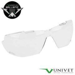 UNIVET Lente di Ricambio per Occhiali 5X1B BALLISTIC Protezione Balistica CLEAR