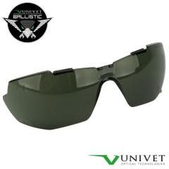 UNIVET Lente di Ricambio per Occhiali 5X1B BALLISTIC Protezione Balistica SMOKE