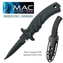 Knife Coltello SUB Torpedo 9B MAC Coltellerie MADE IN ITALY Maniago INOSSIDABILE