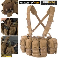 Gilet Tattico HELIKON-TEX Guardian Chest Rig CORDURA® Militare Softair Coyote CY