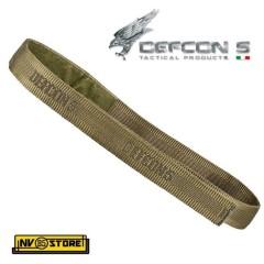 CINTURA VELCROGRIP BELT DEFCON 5 SENZA FIBBIE 38mm MILITARE SOFTAIR UNIFORMI OD