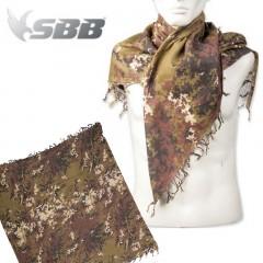 Kefiah Shamag Sciarpa Militare SBB in Cotone 100% Traspirante Vegetato Italiano