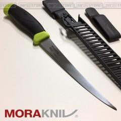 KNIFE COLTELLO PER SFILETTARE MORA MORAKNIV FISHING FILLET 155 PESCA PESCATORE