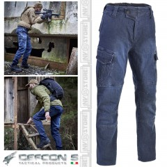 Pantaloni DEFCON 5 Panther Denim Jeans Outdoor Tactical Pants Militare Softair