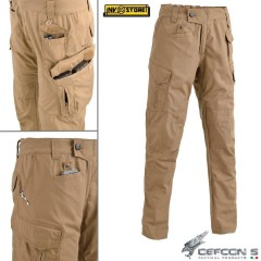 Pantaloni DEFCON 5 Panther Outdoor Tactical Pants RIP-STOP Militare Softair Tan
