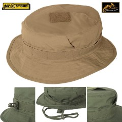 Boonie CPU Hat HELIKON-TEX Cappello Jungle Falda Corta Militare Softair COYOTE