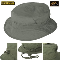 Boonie CPU Hat HELIKON-TEX Cappello Jungle Falda Corta Militare Softair VERDE OD