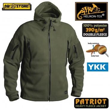 Felpa HELIKON-TEX PATRIOT Tactical Fleece Pile Caccia Softair Militare Outdoor O