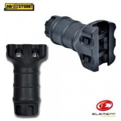 Impugnatura per Fucile Stubby Softair Rail Verticale Fissa Grip Maniglia Nero BK