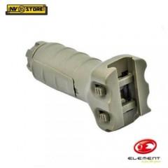 Impugnatura per Fucile Softair Ris Rail Verticale Fissa Grip Maniglia Desert DE