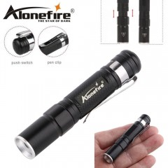 Torcia ALONEFIRE MN23 Small LED CREE XPE-R3 da 150 Lumens ZOOM Telescopico 100 m