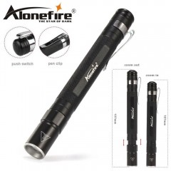 Torcia ALONEFIRE MN23 Long LED CREE XPE-R3 da 150 Lumens ZOOM Telescopico 100 m