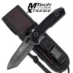 KNIFE COLTELLO DA CACCIA MTECH XTR 8110BK SURVIVOR SOPRAVVIVENZA SURVIVAL PESCA