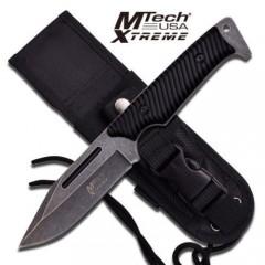 KNIFE COLTELLO DA CACCIA MTECH-8124 SURVIVOR SOPRAVVIVENZA SURVIVAL STILE RAMBO