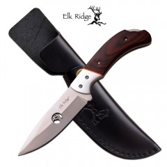 KNIFE COLTELLO DA CACCIA ELK RIDGE PRO 554 PESCA HUNTING SURVIVOR SURVIVAL
