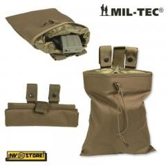 Porta Caricatori Esausti Richiudibile MILTEC MIL-TEC Tasca Utility Bag MOLLE CY