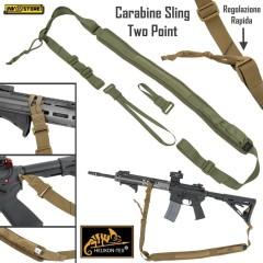 Cinghia per Fucile a 2 Punti HELIKON-TEX CARABINE SLING a Regolazione Rapida AG