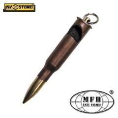 Portachiavi Proiettile Carabina Mosin in Metallo con Apribottiglie Militare MFH