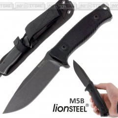Knife Coltello LionSTEEL M5 B Made in Italy Maniago Bushcraft Caccia Survivor
