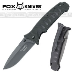 KNIFE COLTELLO FOX KNIVES BLACK FOX BF-111 PRIMO SOCCORSO EMERGENCY CACCIA PESCA