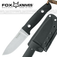 KNIFE COLTELLO FOX KNIVES BLACK FOX BF-710 VESUVIUS DORICCHI BUSHCRAFT CACCIA