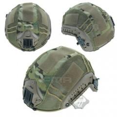 Telino Copri Elmetto FMA in Cordura Multicam Helmet Cover per FAST PJ BJ MICH