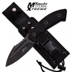KNIFE COLTELLO DA CACCIA MTECH-8133D SURVIVOR SOPRAVVIVENZA SURVIVAL STILE RAMBO