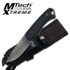 KNIFE COLTELLO DA CACCIA MTECH-8063 SURVIVOR SOPRAVVIVENZA SURVIVAL STILE RAMBO