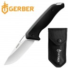 COLTELLO KNIFE GERBER MOMENT FOLDING SURVIVOR CACCIA PESCA CON FODERO INCLUSO
