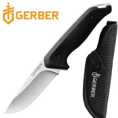 COLTELLO KNIFE GERBER MOMENT FIXED SURVIVOR CACCIA PESCA CON FODERO INCLUSO