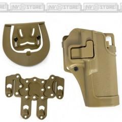 Fondina Pistola Holster Origin STB per Glock 17 Series e Vari Modelli Simili DS
