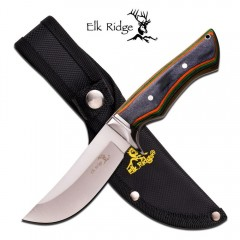 KNIFE COLTELLO DA CACCIA ELK RIDGE PRO 545W PESCA HUNTING SURVIVOR SURVIVAL